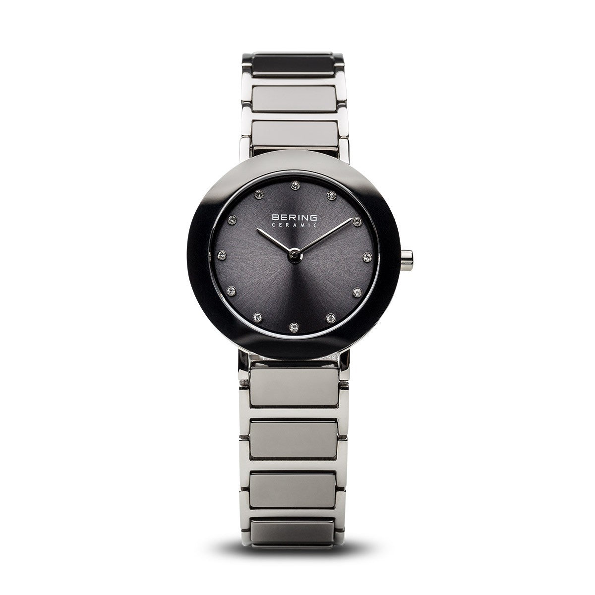 Bering Womens CeramicPolished Silver Watch 11429-783 - Robert Openshaw Fine Jewellery