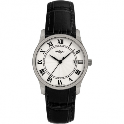 ROTARY GENTS LEATHER STRAP GSI0792/21 - Robert Openshaw Fine Jewellery