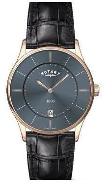 ROTARY MENS ULTRASLIM STRAP WATCH GS08204/20