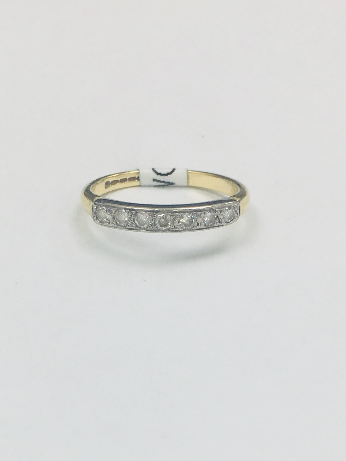 18ct Yellow Gold 0.28cts Eternity Ring