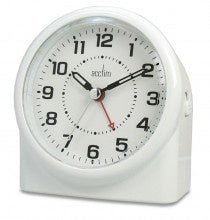 "Acctim ""Central"" Smartlite Sweep Alarm in White 14282 - Robert Openshaw Fine Jewellery"