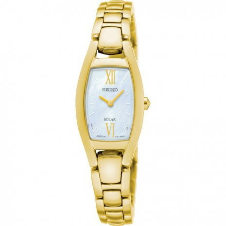 SEIKO LADIES SOLAR 30M WATCH SUP314P1 - Robert Openshaw Fine Jewellery
