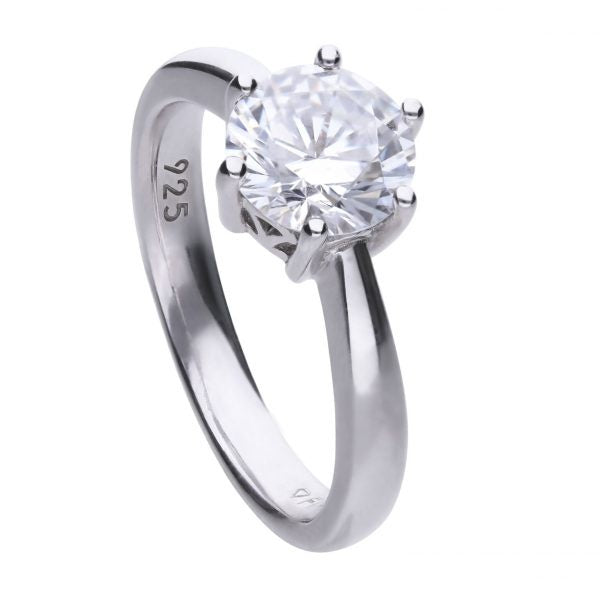 Diamonfire 6 Claw Solitaire Ring 2.00cts R3622
