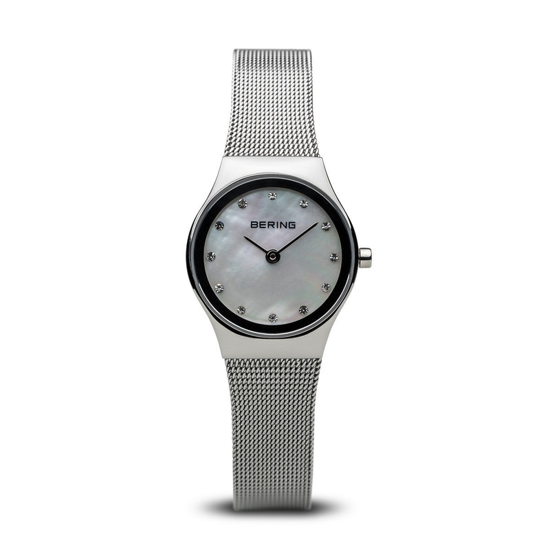 Bering Womens Classic Polished Silver Watch 12924-000 - Robert Openshaw Fine Jewellery