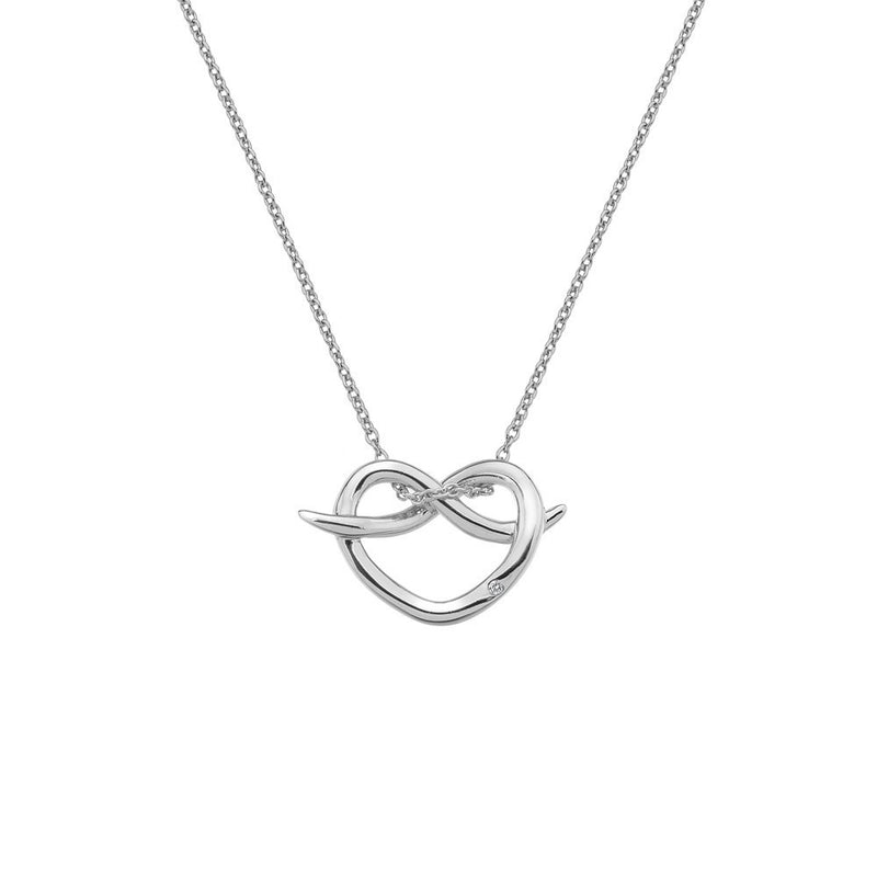 Hot Diamonds Infinity Heart Pendant DP604 - Robert Openshaw Fine Jewellery