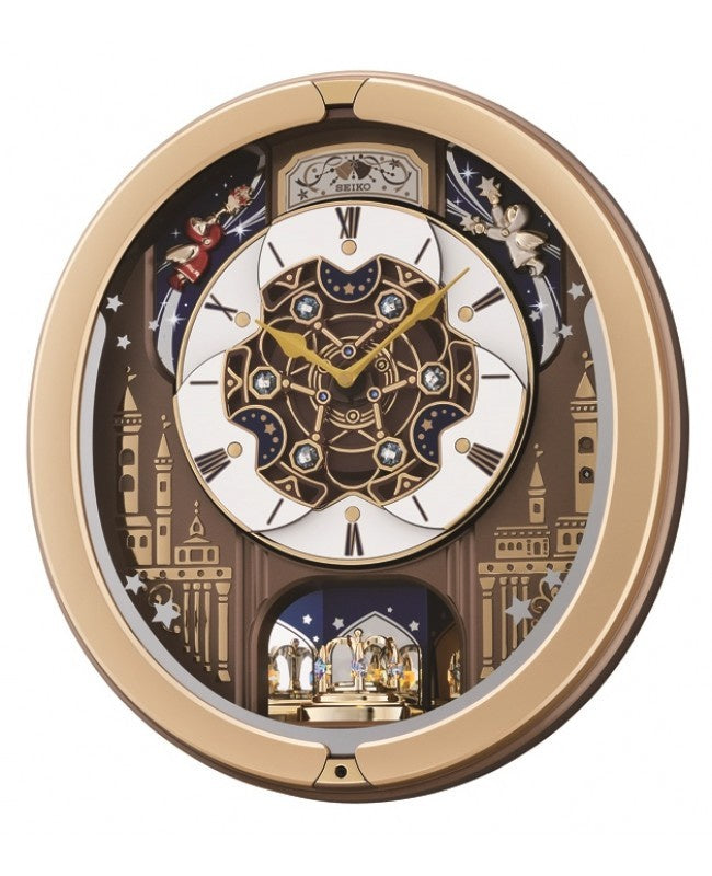 SEIKO MELODY IN MOTION WALL CLOCK QXM350G - Robert Openshaw Fine Jewellery