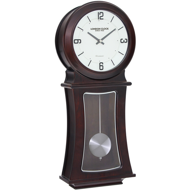 LONDON CLOCK CO PENDULUM WALL CLOCK 24342