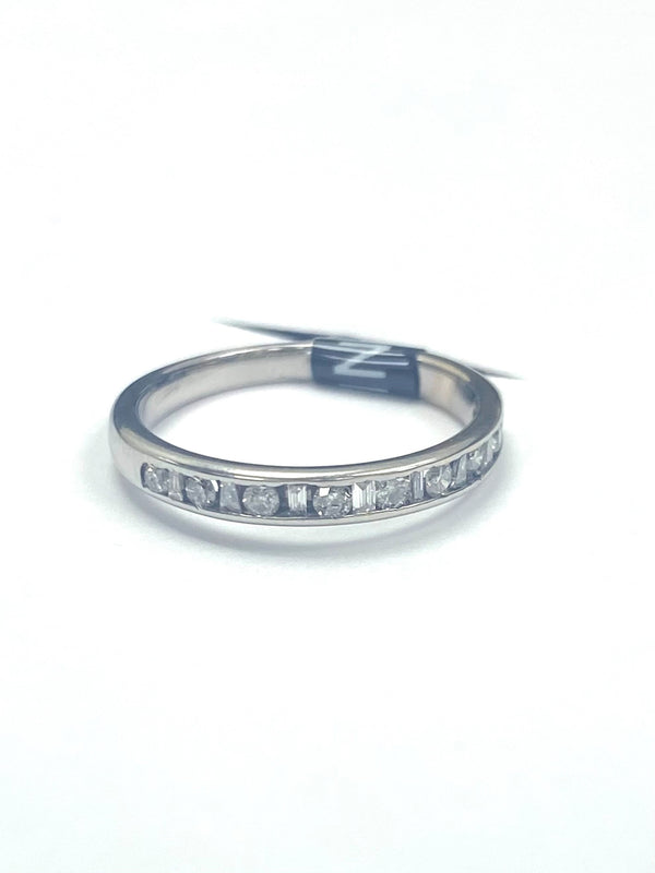 18ct White Gold 0.30cts Eternity Ring