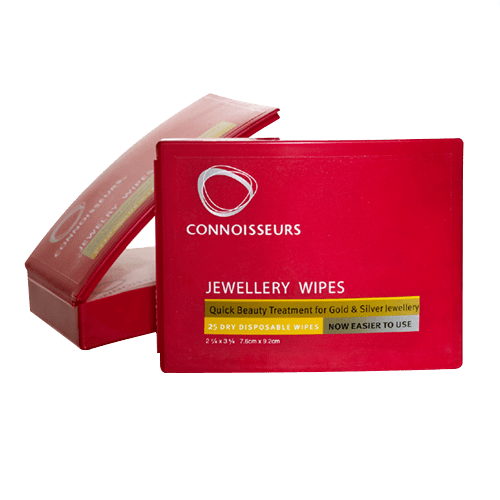 Connoisseurs 25 Jewellery Beauty Wipes CONN776