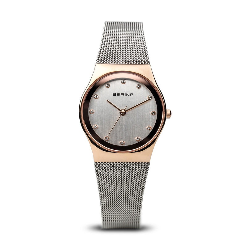 Bering Womens Classic Polished Rose Gold Watch 12927-064 - Robert Openshaw Fine Jewellery