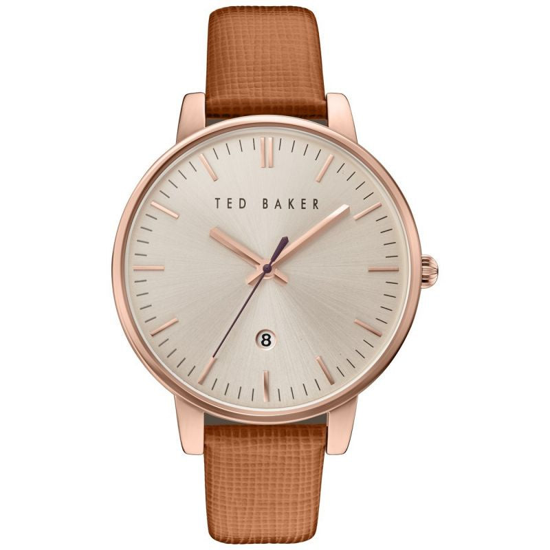 Ted Baker Ladies Rose Gold Plated Watch TE10030738