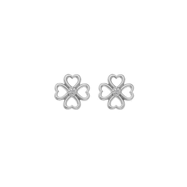 Hot Diamonds Lucky In Love Earrings DE632