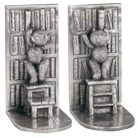 ROYAL SELANGOR LIBRARY BOOKENDS 016111R - Robert Openshaw Fine Jewellery
