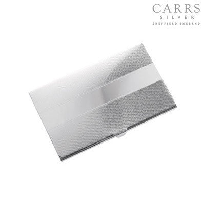 CARRS BUSINESS CARD HOLDER PG-008-SS - Robert Openshaw Fine Jewellery