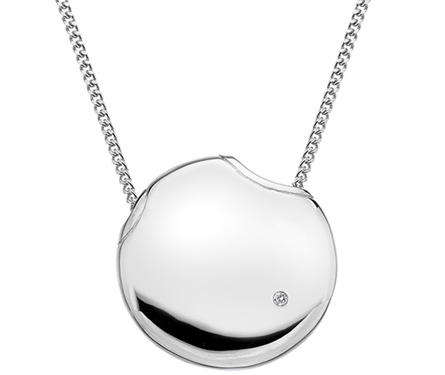 HOT DIAMONDS SILVER LUNAR ECLIPSE PENDANT DP573