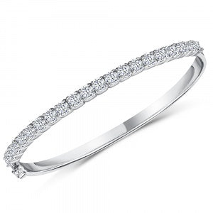 925 CZ BANGLE KPB9708 - Robert Openshaw Fine Jewellery