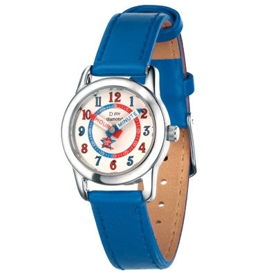 D for DIAMOND BLUE BOYS WATCH Z787