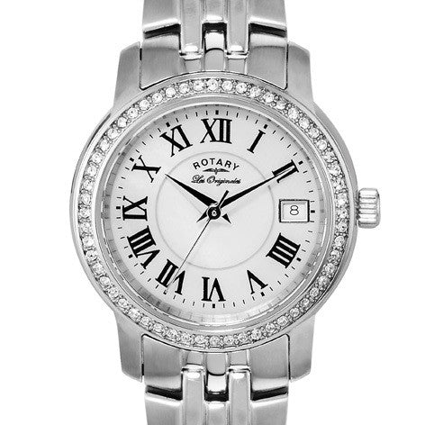 ROTARY LADIES LES ORIGINALS BRACELET WATCH LB90090/41 - Robert Openshaw Fine Jewellery