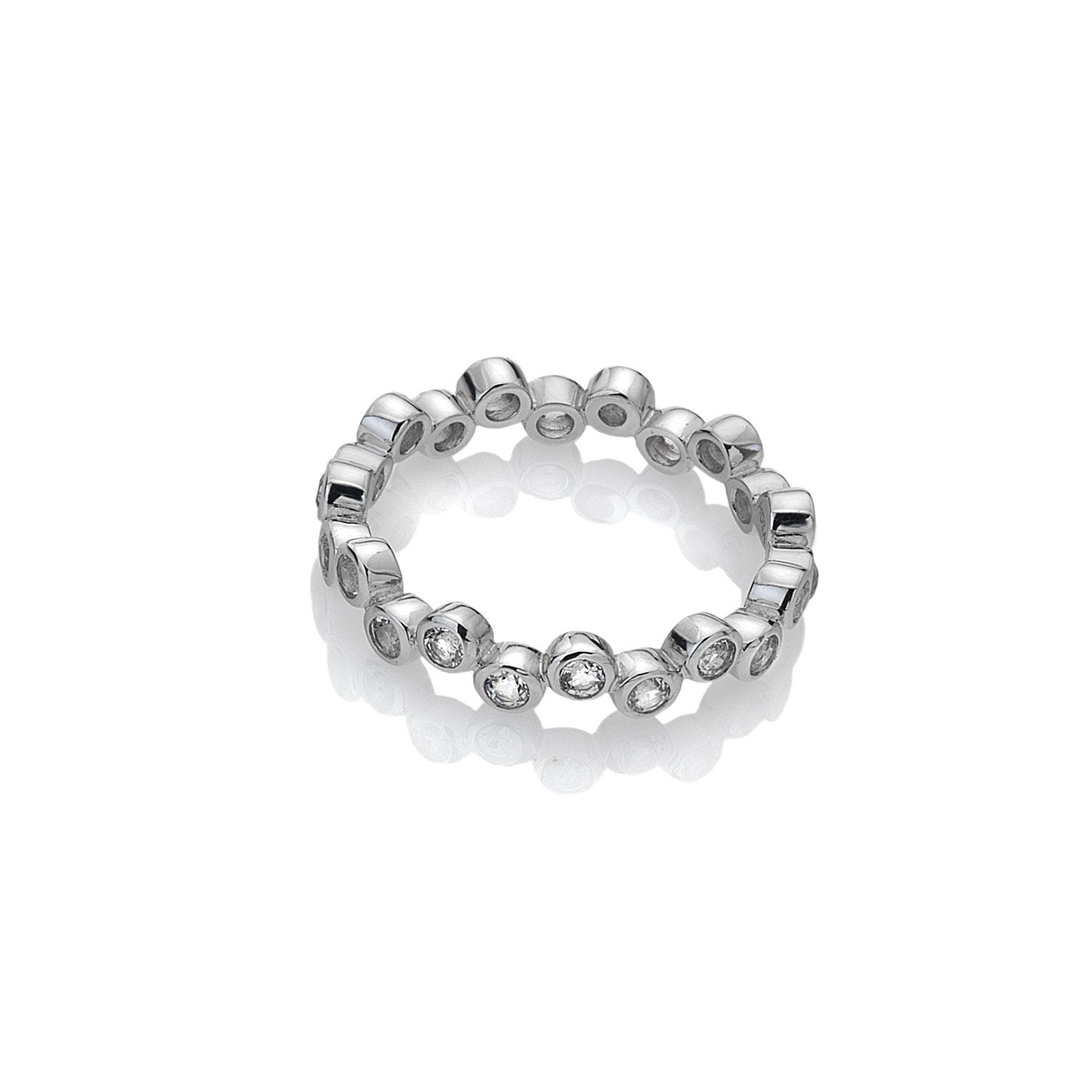 Hot Diamonds Silver Tender Ring DR208