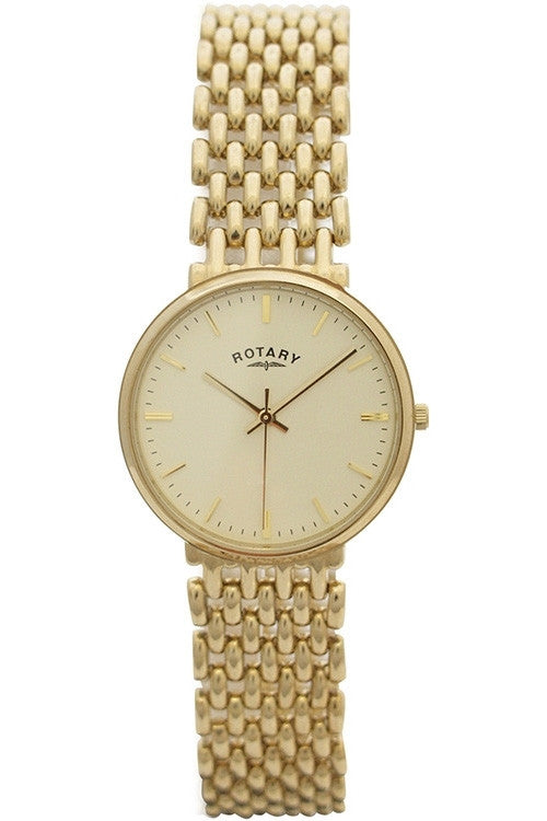 ROTARY 9CT YELLOW GOLD LADIES BRACELET WATCH LB10900/03