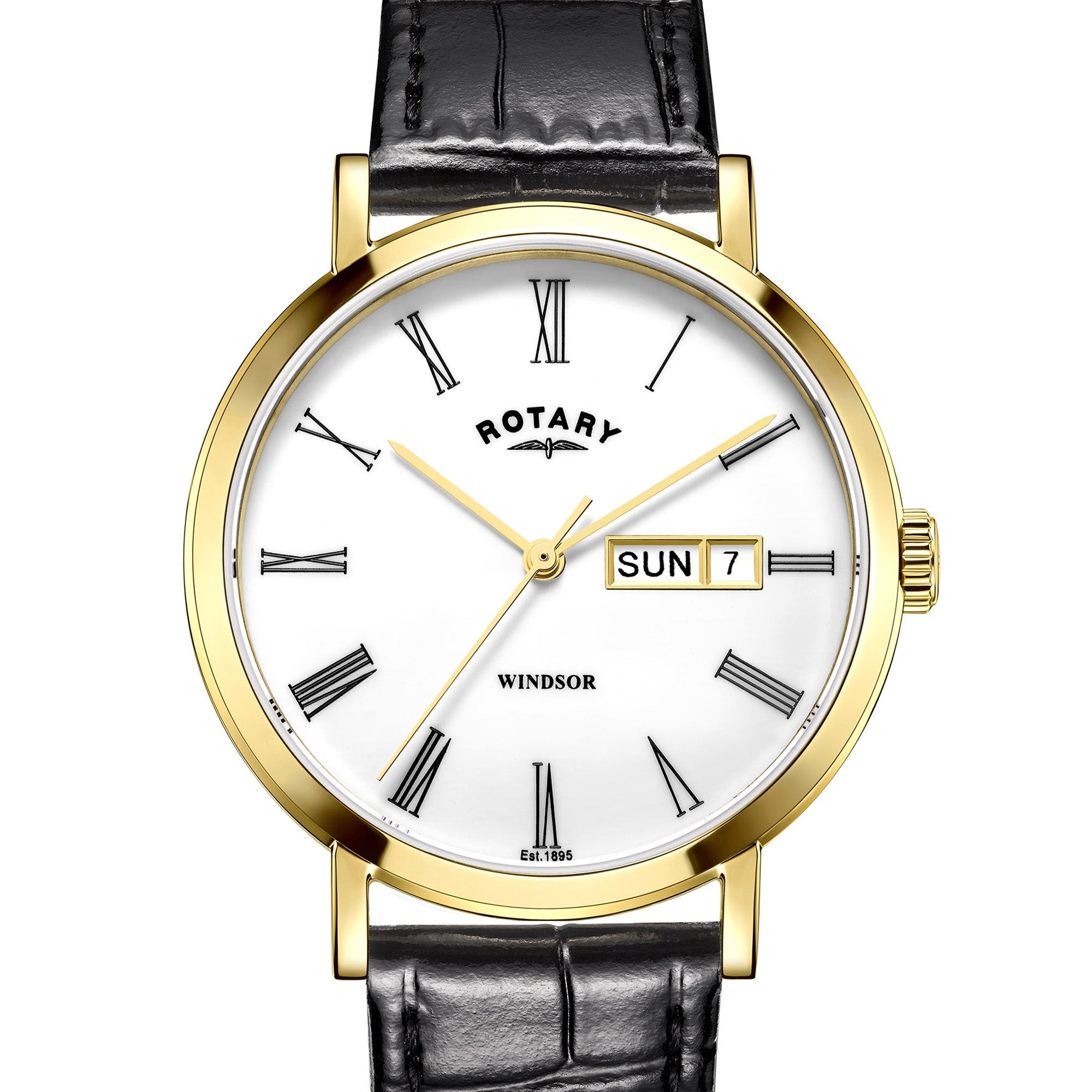 Rotary Gents Strap Watch GS05303/01 - Robert Openshaw Fine Jewellery