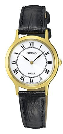 SEIKO LADIES 30M SOLAR WATCH SUP304P1