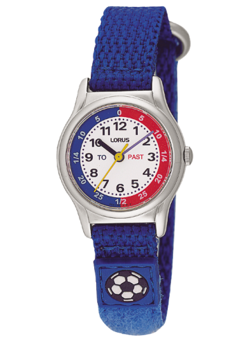 LORUS BOYS BLUE VELCRO STRAP WATCH RG261AX9 - Robert Openshaw Fine Jewellery