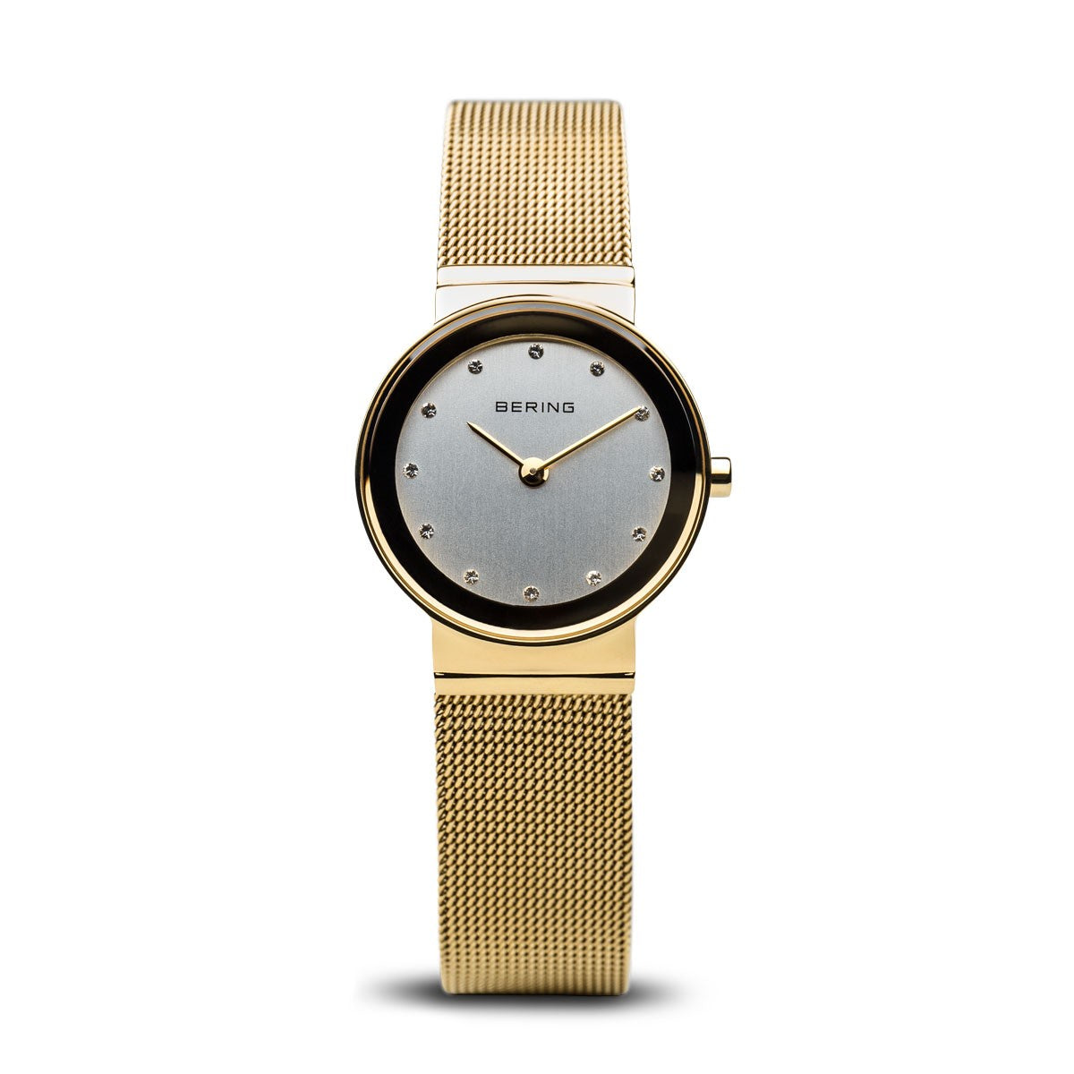 Bering Womens Classic Polished Gold Watch 10126-334 - Robert Openshaw Fine Jewellery