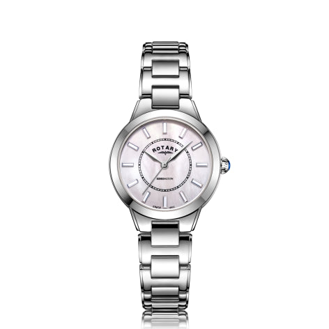 Rotary Stainless Steel Kensington Timepiece LB05375/07