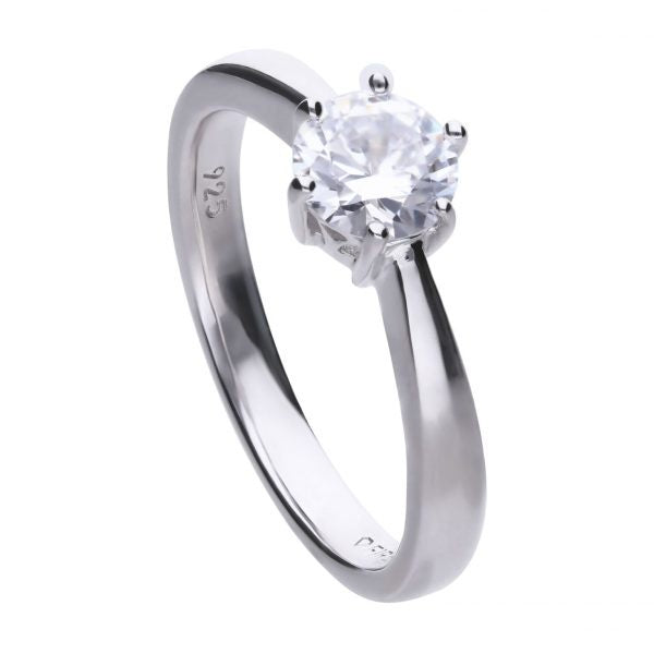 Diamonfire 6 Claw Solitaire Ring 1.00cts R3620