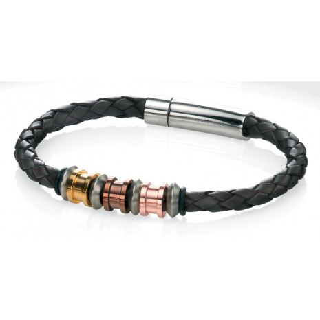 Fred Bennett Leather Bracelet B4210 - Robert Openshaw Fine Jewellery