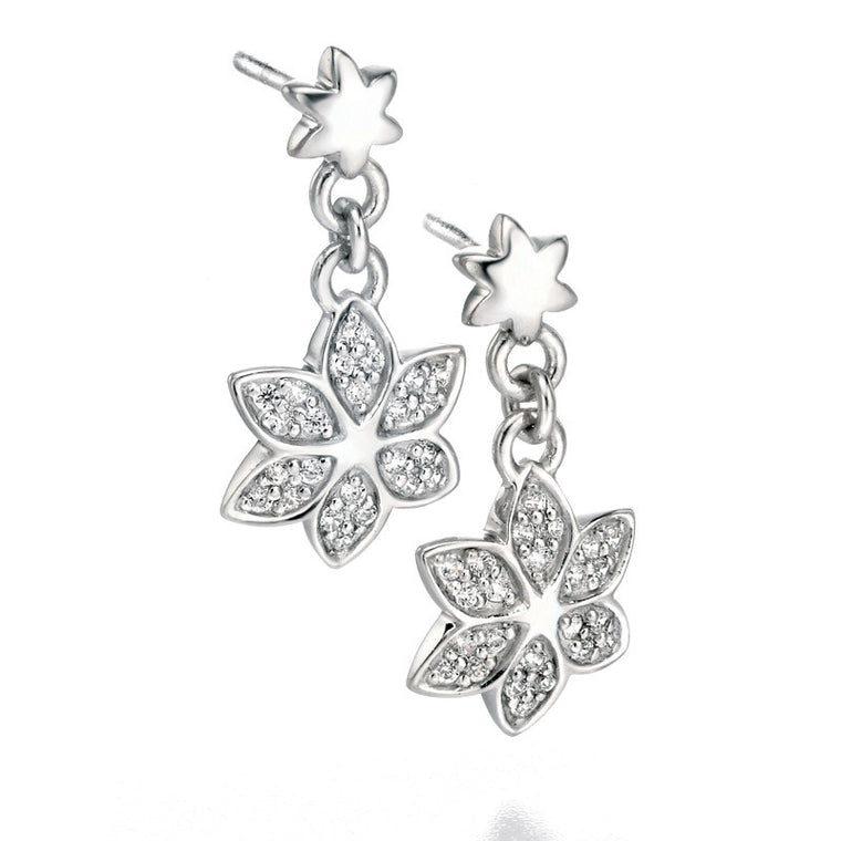 FIORELLI SILVER DROP EARRINGS E4855C