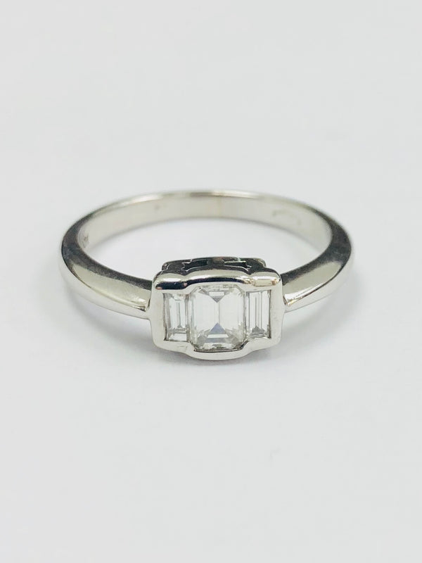 18ct White Gold  Eleven Stone Wedding/Eternity Ring. 0.55cts - BUNCH2 - Robert Openshaw Fine Jewellery