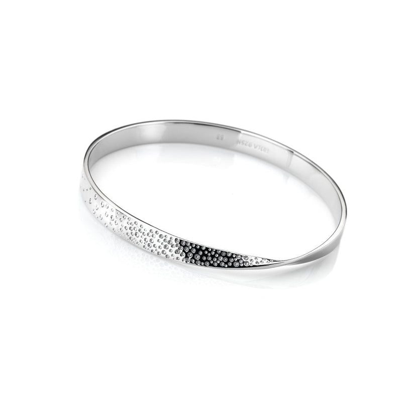Hot Diamonds Quest Silver Bangle DC168