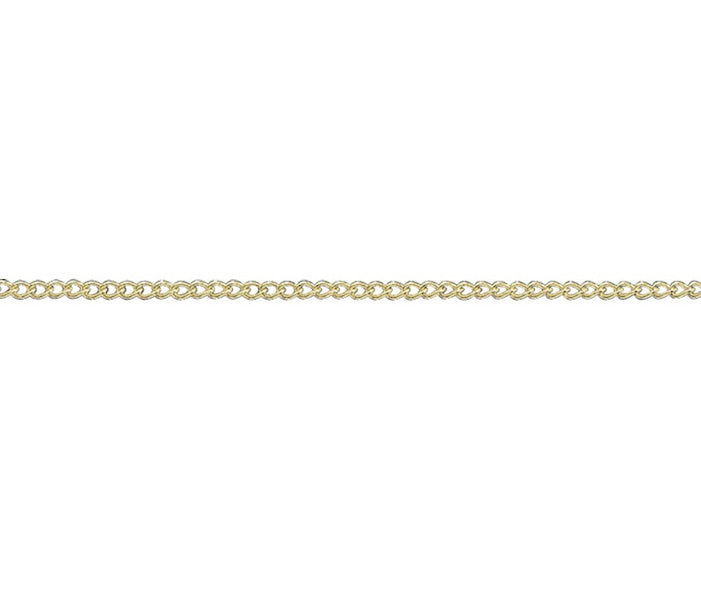 "9ct Yellow Gold 20"" Curb Chain  G1416C20"