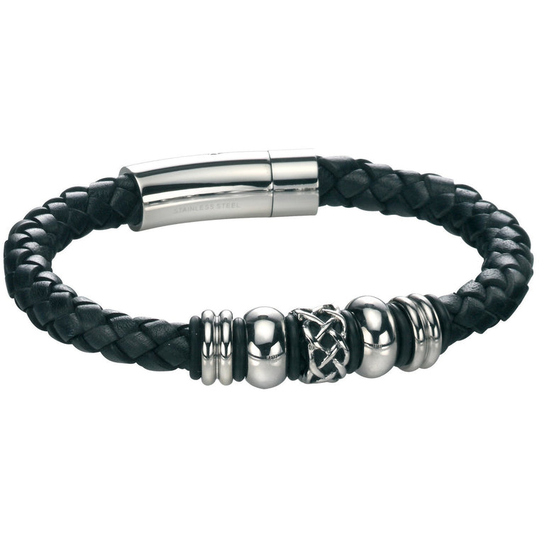 Fred Bennett Leather Bracelet B4211