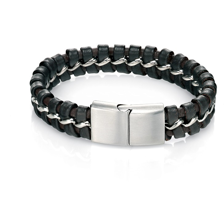 Fred Bennett Leather Bracelet B4370 - Robert Openshaw Fine Jewellery