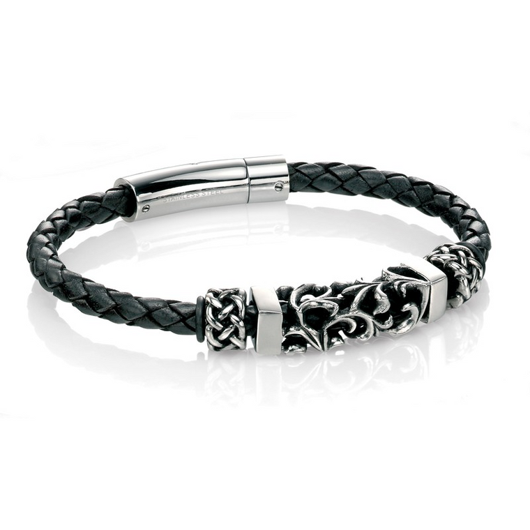 Fred Bennett Leather Bracelet B4378