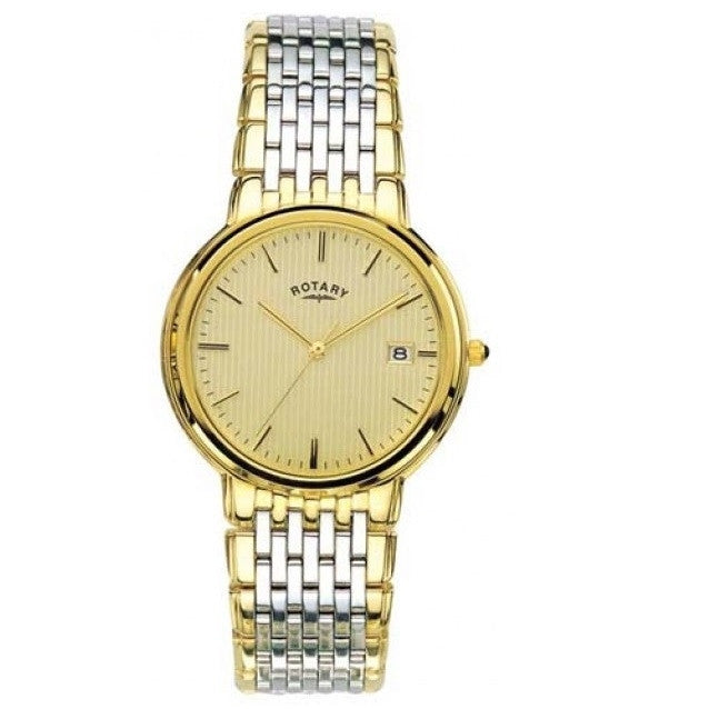 ROTARY GENTS TWO TONE 30M BRACELET WATCH GB00497/03