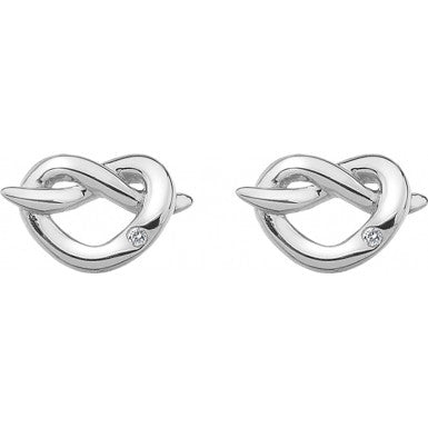 Hot Diamonds Infinity Heart Earrings DE450 - Robert Openshaw Fine Jewellery