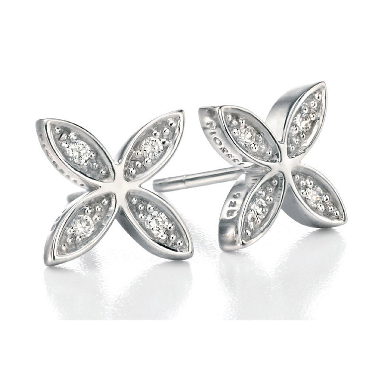 FIORELLI CZ PAVE EARRINGS E4857C