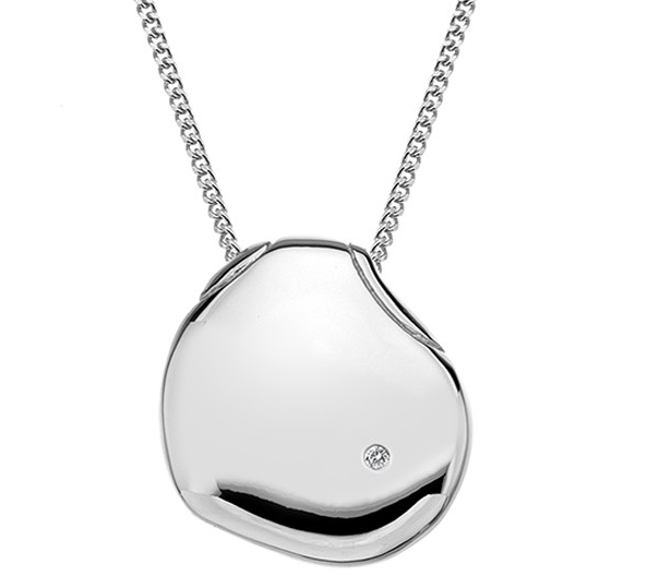 HOT DIAMONDS SILVER PENDANT DP574 - Robert Openshaw Fine Jewellery
