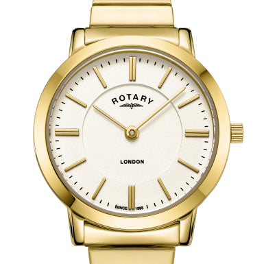 Rotary Ladies Gold PVD Expander London LB00766/03