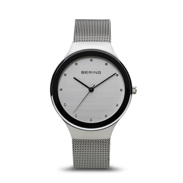 Bering Womans Classic Polished Silver Watch 12934-000