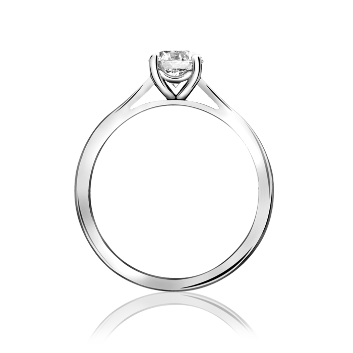 PLATINUM 0.27CTS DIAMOND SOLITAIRE RING 3734/1 - Robert Openshaw Fine Jewellery