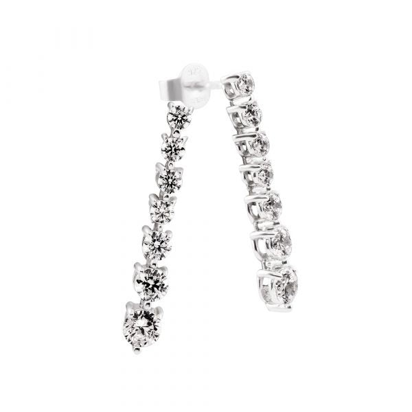 Diamonfire classic CZ earrings 62-1584-1-082