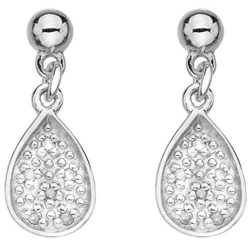 Hot Diamonds Stargazer Teardrop Earrings DE386
