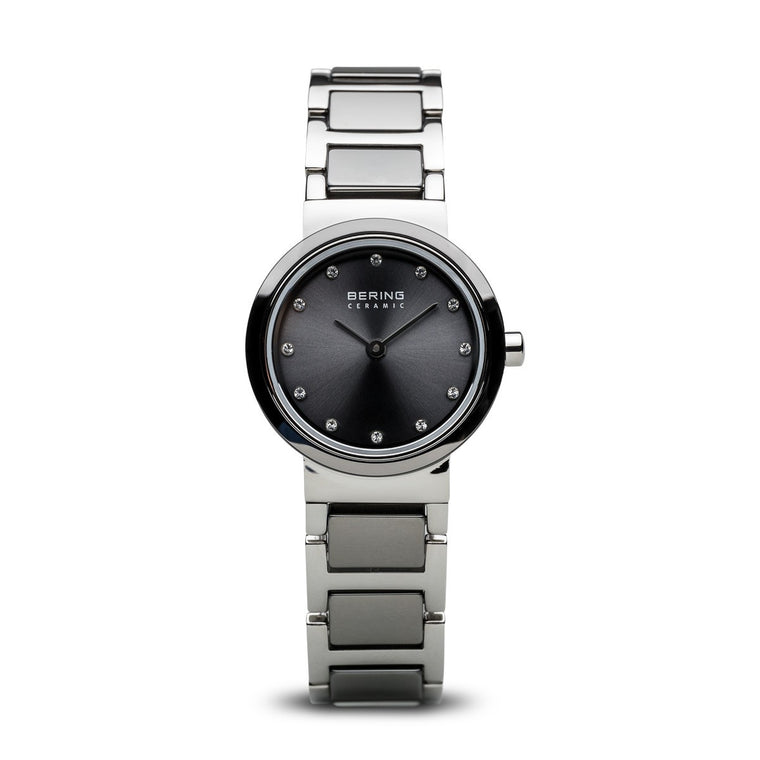 Bering Womens Ceramic Watch Polished Silver 10725-783