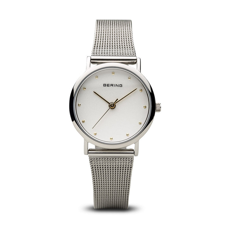 Bering Womens Classic Polished Silver Watch 13426-001