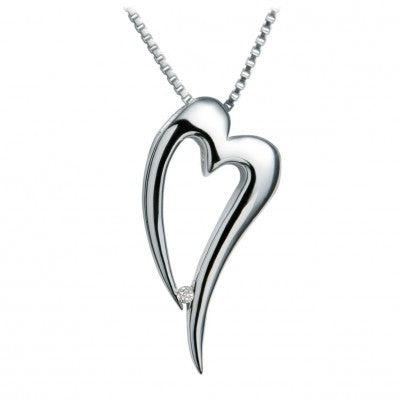 Hot Diamonds Lingering Heart DP088